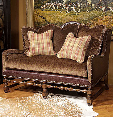 Century Furniture :  furniture seating settee century chair