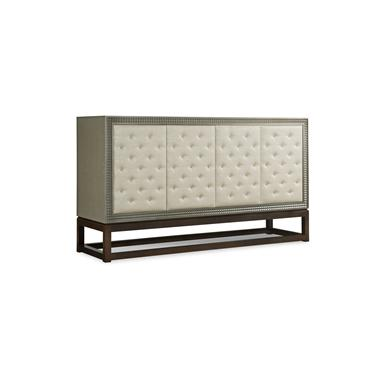 339 404u Credenza With Upholstered Door Fronts