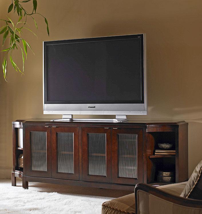 E39 403 Glass Door Entertainment Credenza