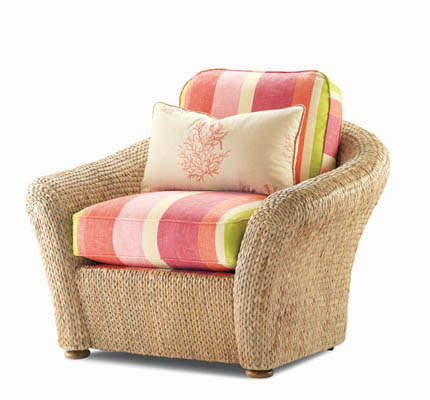 Elegance (LTD5112-8) WATER HYACINTH SWIVEL CHAIR