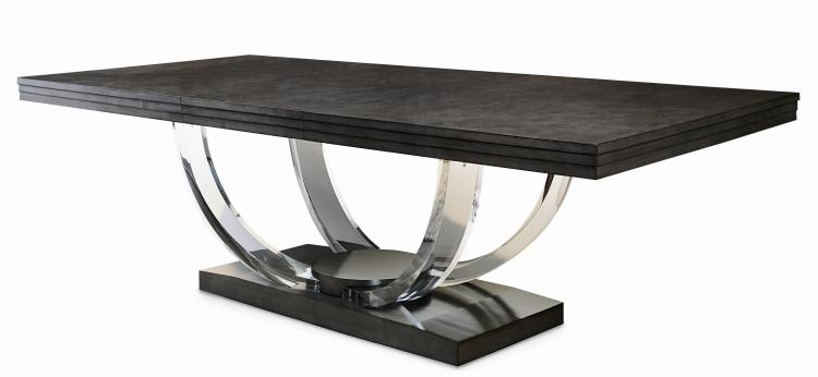 559 303 A Omni Dining Table With Acrylic Legs