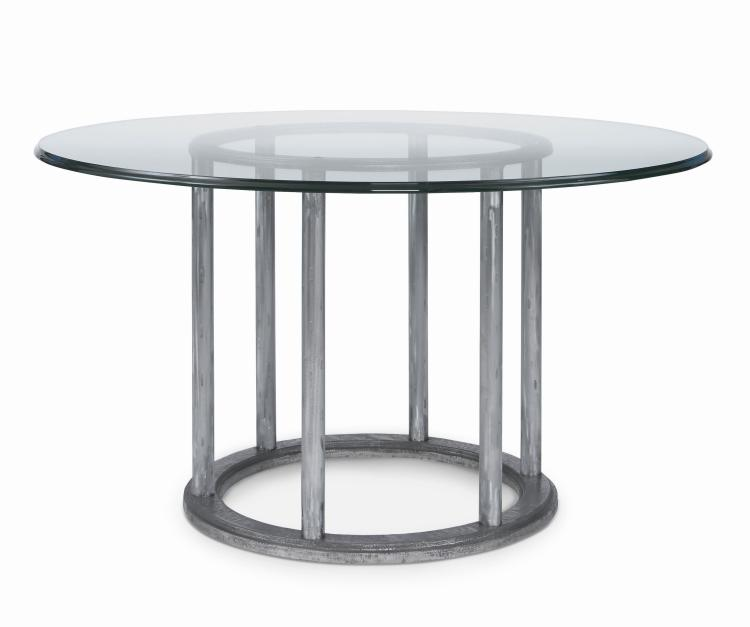 70a 308 cornet dining table with 60 round glass top for 13 inch round glass table top