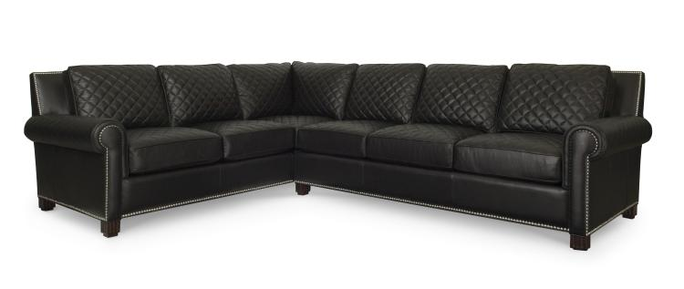 Cool Plr 5761 Black Lyndon Laf Quilted Corner Sofa Caraccident5 Cool Chair Designs And Ideas Caraccident5Info