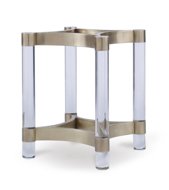 Cra 828b Acrylic Metal Dining Table Base For Glass Tops